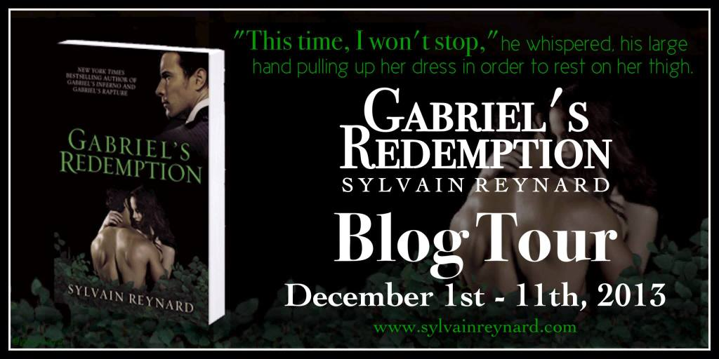 Gabriel's Redemption Blog Tour Banner