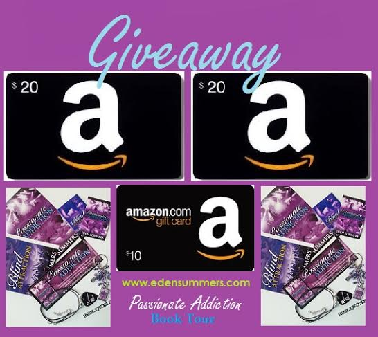 Passionate Addiction Book Tour Giveaway Pic